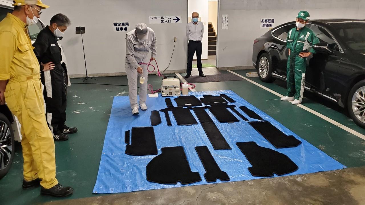 車内施工技術者認定講習会 兵庫